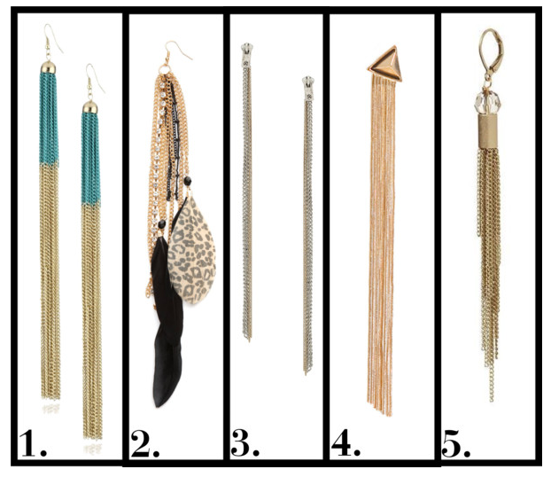 geometric simple material latest long from design length product alloy gold earrings weight chain